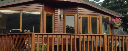 New for 2017 – Lodge Hire with Hot Tub